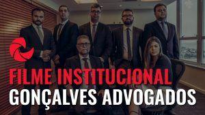 Filme Institucional Gonçalves Advogados