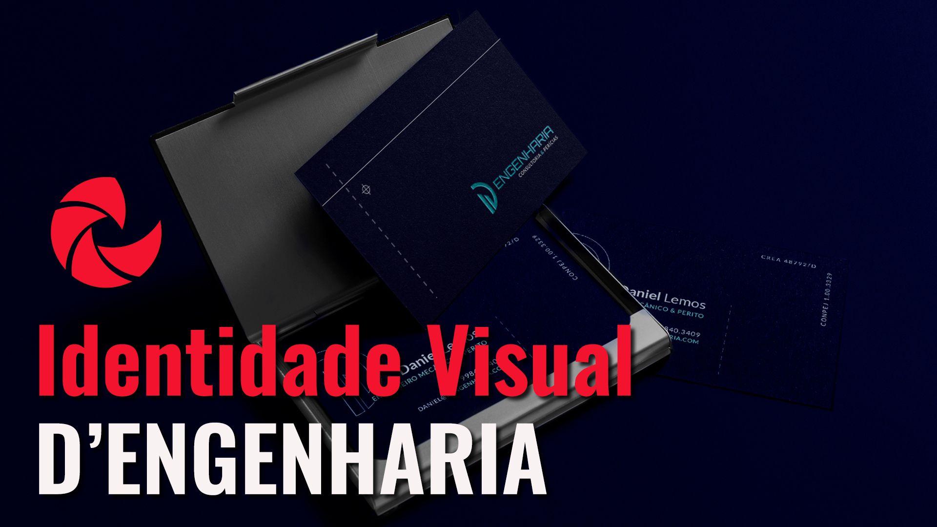 Elaboração da Identidade Visual da D'Engenharia
